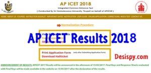 AP ICET Results 2018 – Check Andhra Pradesh ICET Rank Card At Manabadi & Sche.ap.gov.in