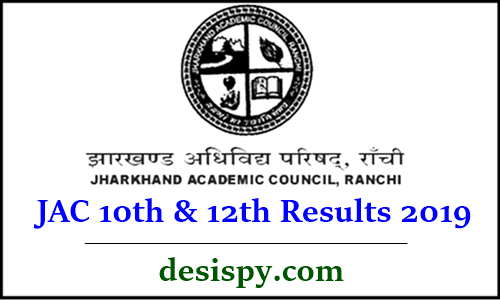 JAC 10th & 12th Results 2019