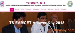 TS EAMCET Official Answer Key 2018 – Download Telangana EAMCET Keys, Solutions & Cutoff Marks @ Eamcet.tsche.ac.in
