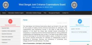 WBJEE Results 2018 – Check West Bengal JEE Score, Rank Card, Cut off Marks @ wbjeeb.nic.in