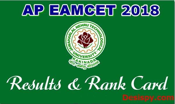 AP EAMCET Results 2018 & Rank
