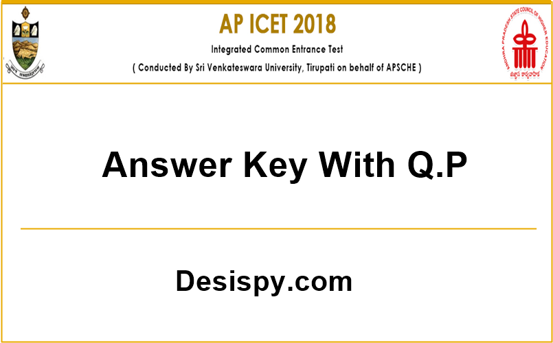 ap icet 2018 answer key