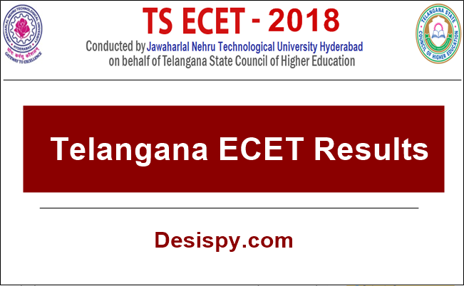 TS ECET Results 2018