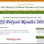 Ts Polycet Results 2019