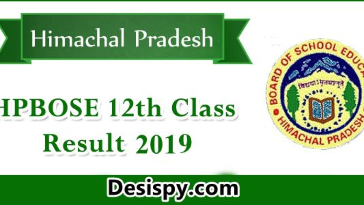 HPBOSE 12th Result 2019 - Check HP Board Class 12 Results Name wise