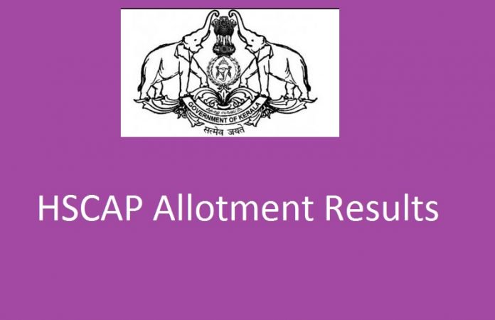Kerala Plus One First Allotment Results 2019